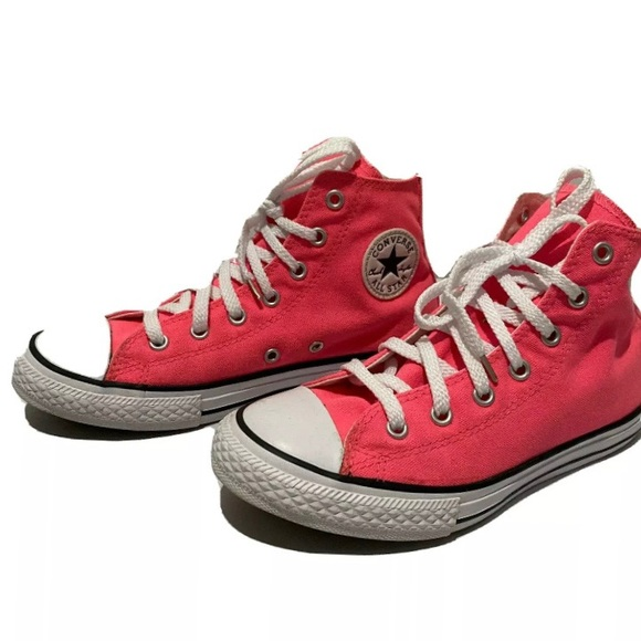 High Top Hot Pink Sneaker Chuck Taylor